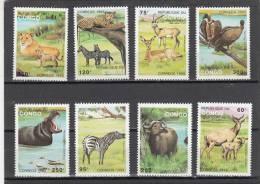 Congo Nº 971 Al 978 - Democratic Republic Of Congo (1997 - ...)