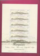 YT N° 973 Et 974 En Feuille - Les Marquises - Neufs
