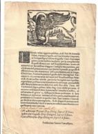 Prosdocimo Fanton Cancelliero Venezia COD Bu.271 - Decreti & Leggi