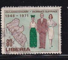 Liberia 1971, Minr 785, Vfu (some Paperremains On The Back) - Liberia