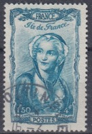 +France 1943. Coiffes Régionales. Yvert 595. Cancelled - Usados