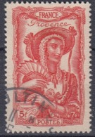 +France 1943. Coiffes Régionales. Yvert 598. Cancelled - Usados