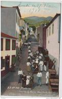 MADEIRA  CAMINHO DO MONTE DESCIDA DE CARROS 1908 - Madeira