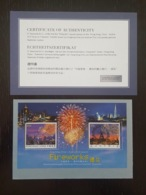 Hong Kong/Austria 2006; Joint Issue; Fireworks; Prater's Wheel MNH / Neuf** / Postfrisch!! - Nuevos