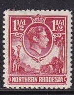North Rhodesia 1936, Minr 29, Mlh. Cv 60 Euro - Noord-Rhodesië (...-1963)