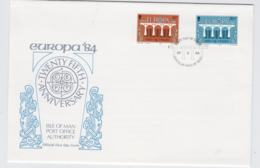 Isle Of Man 1984 FDC Europa CEPT  (NB**LAR3B16) - Europa-CEPT