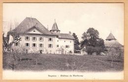 CPA Begnins, Château Du Martheray, Ungel. - VS Valais