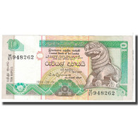 Billet, Sri Lanka, 10 Rupees, 1991, 1991-01-01, KM:102b, NEUF - Sri Lanka