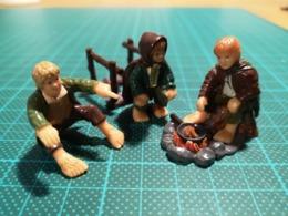 Lot De 3 Figurines Hobbits Seigneurs Des Anneaux - El Señor De Los Anillos