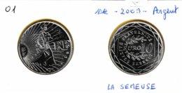 10 Euro Semeuse En Marche En Argent 900 - France 2009 - France