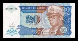 Zaire 20 Nouveaux Zaires 1993 Pick 56 SC UNC - Zaire