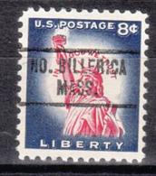 USA Precancel Vorausentwertung Preo, Locals Massachusetts, North Billerica 734 - Vereinigte Staaten