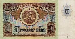 Bulgaria 50 Leva 1990 Pick 98 UNC - Bulgarien