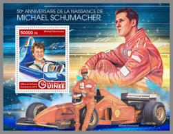 GUINEA REP. 2019 MNH Michael Schumacher Formula 1 S/S - OFFICIAL ISSUE - DH1939 - Automobilismo