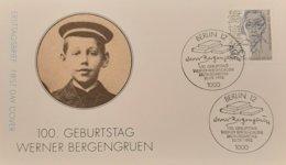 Germany FDC 100.Geburtstag Werner Bergengruen - [7] République Fédérale
