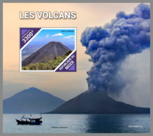 NIGER 2019 MNH Volcanoes Vilkane Volcans S/S - IMPERFORATED - DH1939 - Volcans