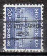 USA Precancel Vorausentwertung Preo, Locals Massachusetts, North Carver 807 - Vereinigte Staaten