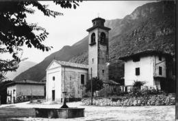 TRENTINO - MAMA D'AVIO (TN)  - LA PIAZZA - VIAGGIATA 1963 FRANCOBOLLO ASPORTATO - Italia
