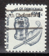 USA Precancel Vorausentwertung Preo, Locals Massachusetts, North Chelmsford 848 - Vereinigte Staaten