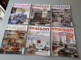 6 Magazines : La Maison Créative N° 51, 53, 54, 56, 59, 63 & - Haus & Dekor