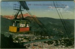 BOLZANO - ELEKTRISCHE SCHWEBEBAHN VON BOZEN  NACH KOHLERN - EDIT B. LEHRBURGER - 1910s (BG4414) - Bolzano (Bozen)