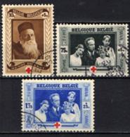BELGIO - 1939 - 75° ANNIVERSARIO DELLA CROCE ROSSA - USATI - Belgio