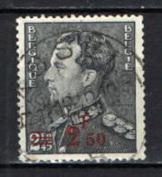 BELGIO - 1938 - IL RE LEOPOLDO III CON SOVRASTAMPA - OVERPRINTED - USATO - Belgio