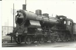 Stoomtrein Real Photographs Co.ltd 69 Stanley Road Broadstairs Kent  (2098) - Treni