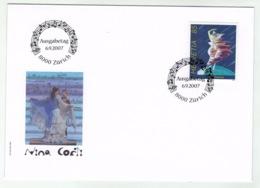 Suisse//Schweiz// Switzerland// 2007 FDC // Nina Corti // No.1247 - FDC