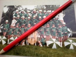 CARTE POSTALE PHOTO MAJORETTES LES LIBELLULES SAINT BERTHEVIN  53 MAYENNE - Muziek