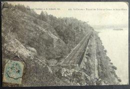CPA 44 LE CELLIER - Rare - Tunnel Des Folies Et Coteau De Saint Méens - Toublanc 219 - Réf. S 76 - Le Cellier