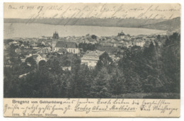 BREGENZ - AUSTRIA, Year 1907 - Bregenz