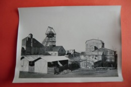 PHOTO ANCIENNE. ALTES FOTO. 18x13CM. ALLEMAGNE HEUSWEILER. GRUBE DILSBURG. Mines. Usines. - Germany
