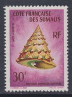 Cote Des Somalis N° 314 XX Coquillages De La Mae Rouge , Partie De Sériie : 30 F. Sans Charnière,  TB - Côte Française Des Somalis (1894-1967)