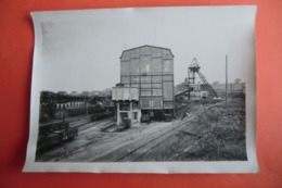 PHOTO ANCIENNE. ALTES FOTO. 18x13CM. ALLEMAGNE HEUSWEILER. GRUBE DILSBURG. Mines. Usines. - Autres
