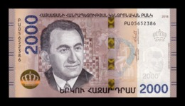 Armenia 2000 Dram 2018 Pick New SC UNC - Armenië