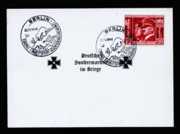 A6345) DR Sonderkarte M. Mi.763 U. Sonderstempel 25.11.41 - Germany