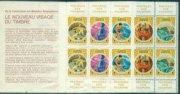 FRANCE Carnet 1976 / 77 De 10 Timbres Nxx ( Velo,sports,musique Etc ) B / TB Pas Courant (maladies Respiratoires ) - Sonstige