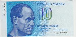 Finland 10 Markka 1986 Pick 113 UNC - Finlandia
