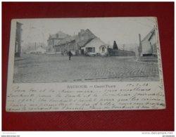 BAUDOUR  -  Grand' Place  -   1903 - Saint-Ghislain