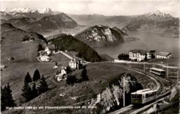 Rigi-Staffel Mit Vierwaldstättersee Und Die Alpen (10800) * 16. 10. 1950 - SZ Schwyz
