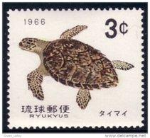 778 Ryukyu Tortue Turtle Schildkrote Tortuga MNH ** Neuf SC (RYU-2c) - Schildpadden