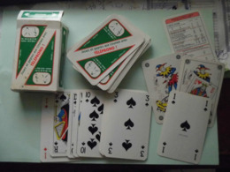 Jeu De 52 Cartes - Télépromo - Carta Mundi - Belgique - 54 Cartes