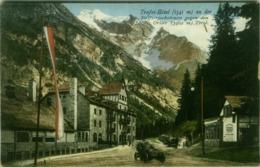 TRAFOI HOTEL AN DER STILFSERJOCHSTRASSE GEGEN DEN ORTLER - TIROL - EDIT JOH. E. AMONN BOZEN / BOLZANO  - 1910s (BG4419) - Bolzano (Bozen)