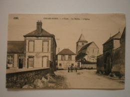 51 Coizard Joches, L'école, La Mairie, L'église (A6p26) - Altri Comuni