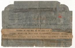 INDOCHINE - Télégramme I-9 Gouvernement Général De L'Indochine 1945 - Saigon Hué - Soldat Prisonnier Des Japonais - Indochine (1889-1945)