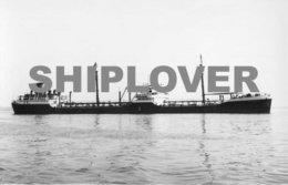 Photo Ancienne Pétrolier Français MINERVE - Bateau / Ship / Schiff - Bateaux