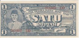 Indonesia 1 Rupian 1945 Pick 17a UNC - Indonesia