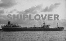Photo Ancienne Pétrolier Français SIBELLA  - Photo A Duncan - Bateau / Ship / Schiff - Bateaux