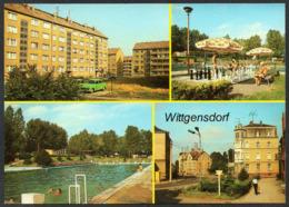 7760 - TOP Wittgensdorf Freibad - Bild Und Heimat Reichenbach - Chemnitz (Karl-Marx-Stadt 1953-1990)